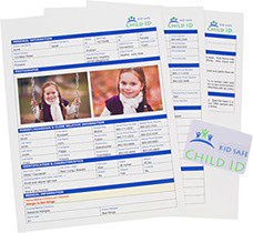 Kid Safe Child ID Forms